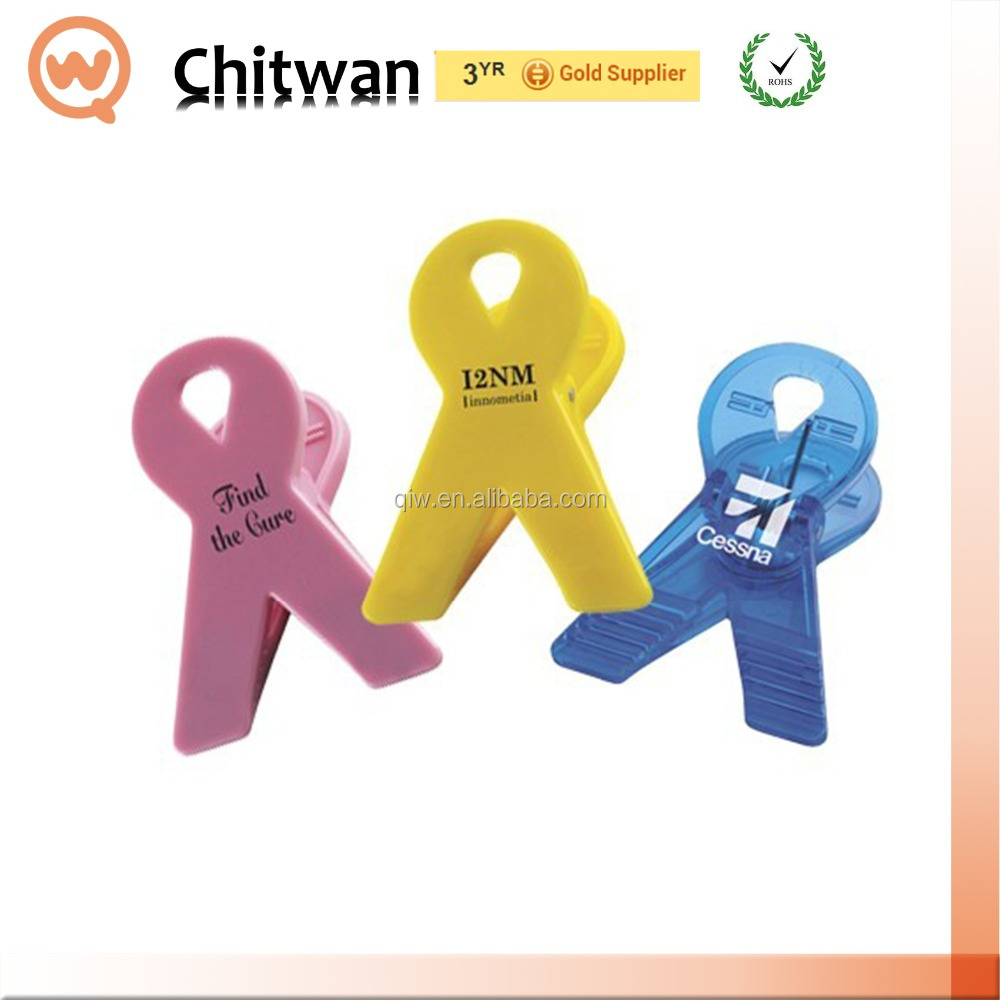 Promotion gift factory direct mini plastic magnet clips high quality