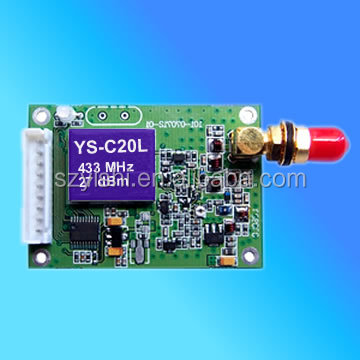 500mW 2KM RS232 RS485 Radio Transmitter Data Transceiver 3KM 868Mhz USB Receiver RF Modules