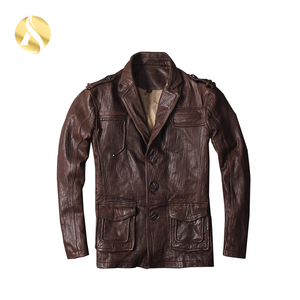 Sport Windproof Motorbike Men Leather Jacket Pakistan