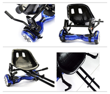 HoverSeat hoverkart avec suspension for 6.5, 8 Inch Hoverboard Accessories Smart Electric Scooter Go-Karting for Adults& Kids