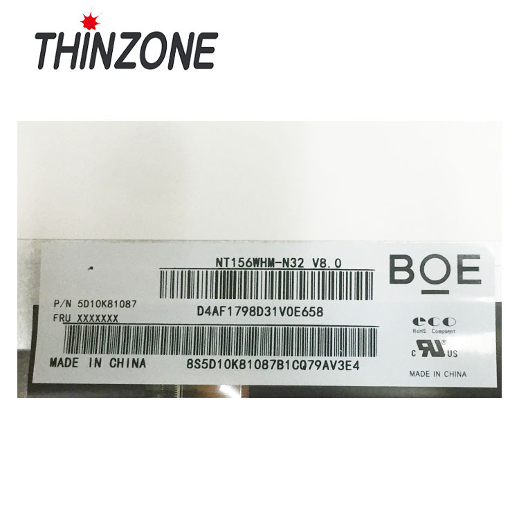 "Factory Price Wholesale 30 PIN 15.6 inch Paper LED Screen NT156WHM-N32 LTN156AT39 15.6"" Slim Laptop Screen"