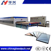 CE High Output Soft Low-e Continuous Force Convection furnace for tempering glass