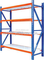 High Capacity with Hot Selling Design Warehouse Adjustable Storage Long Span Racking with 4 Layers YD-351