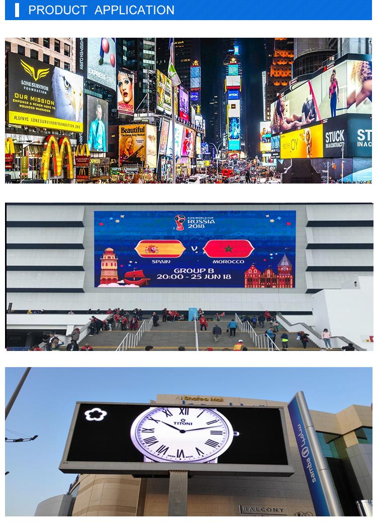P16 gute Werbung führte Zeichen im Freien geführte Anzeige p10 wasserdichter geführter Schirm des Shenzhens