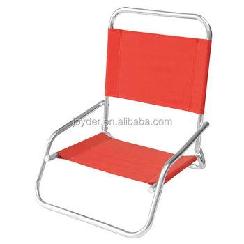 Furniture Outdoor Folding Brazilian Luxury Low Back Beach Chair