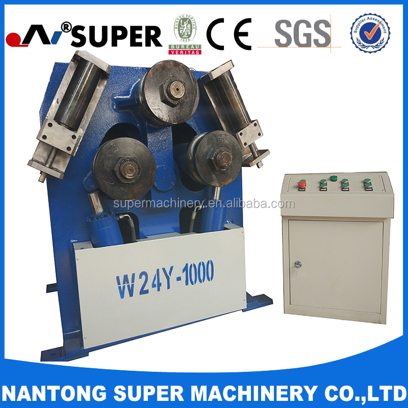 W24Y-1000 Aluminum Tube Profile Rolling Bending Machine
