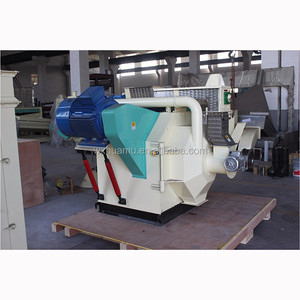 new Own factory wood biomass rice husk pellet machine