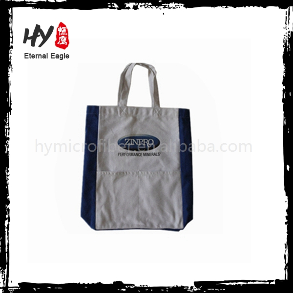Customized china supplier canvas shopping bag with great price