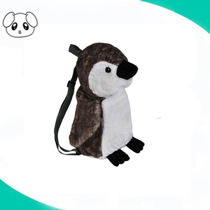 plush kawaii penguin backpack animal school shoulder bag soft children backpack