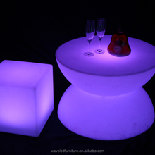 Nice-looking led table light up for night club factory direct sale