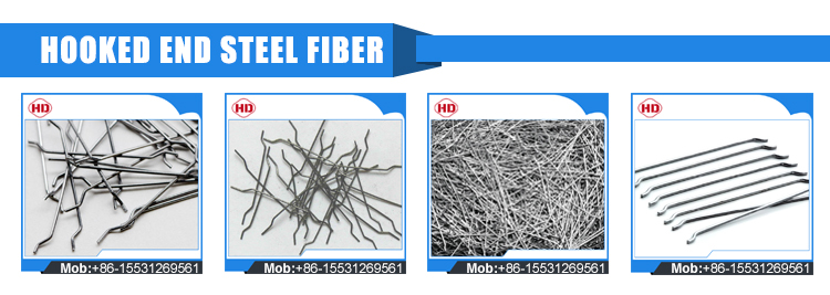 Best quality corrugated steel fiber for flooring concrete