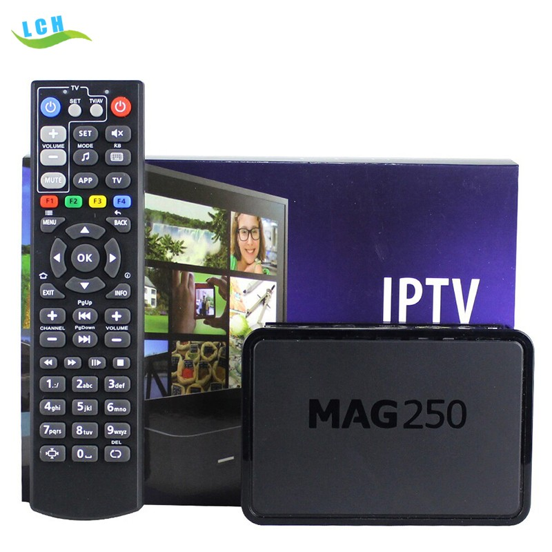 Best Linux system Mag 250 set top box Media player support Wifi usb mag 254 iptv box