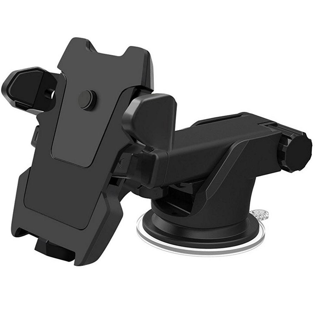 BOSSAND 360° Rotation Windshield Car Mount Holder Car Phone Holder Dashboard Cell Phone Mount for IPhone 7 7s 7 plus 6 6s 6 Plus 6s Plus Samsung S6 edge S7 edge Note 7 5 LG HTC and Other Smartphones