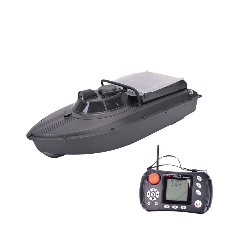 2AG 10A20A30A 300M Remote Control Navigator Fishing Wireless GPS Fish Finder Bait Boat With Double Motors, Black