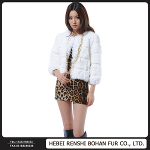 Factory Price Imports Of Cut Flowers Whole Skin Rabbit Hair Short Coat