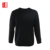 Factory direct eco friendly polyester cotton pullover custom logo blank sweatshirt