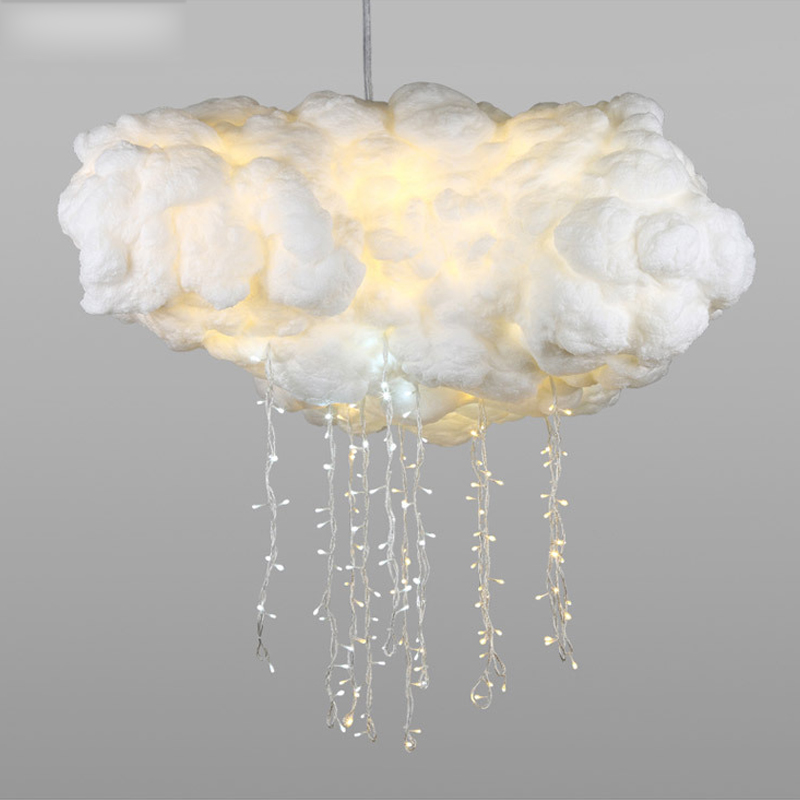2018 Innovative modern design restaurant hanging chandelier LED cloud ceiling <strong>lights</strong>