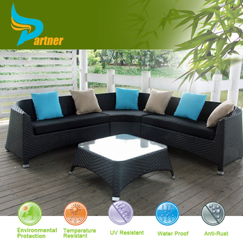 alibaba hot selling products 6pcs seat outdoor rattan modern garden furniture dubai