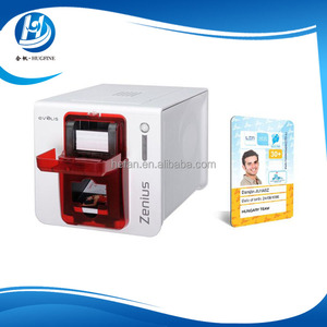 Easy of Use Evolis Zenius Plastic ID Card Printer