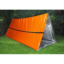 Dikke HUISDIER Mylar Thermische Emergency <span class=keywords><strong>Survival</strong></span> Buis <span class=keywords><strong>Tent</strong></span>