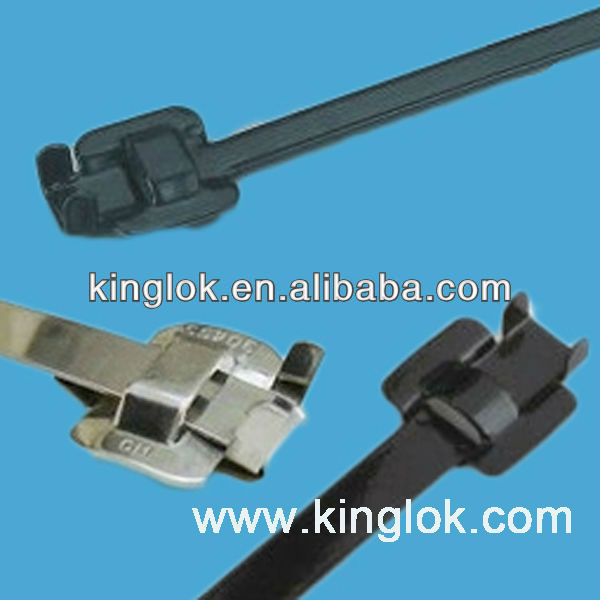 stainless steel 304 grade cable tie wrap