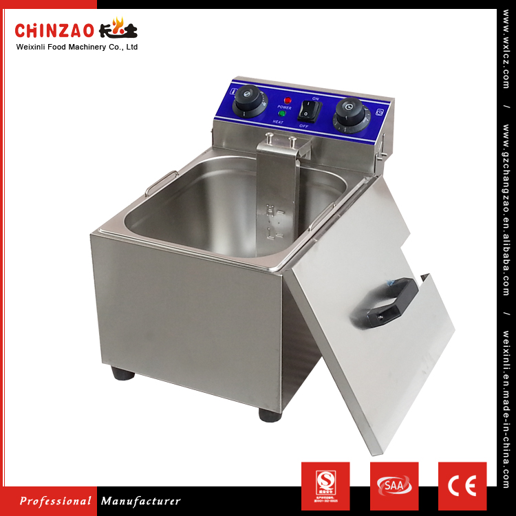 CHINZAO China Hot Products Wholesale Automatische industrielle elektrische Fritteuse mit Heizelement