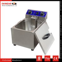 CHINZAO China Hot Products Wholesale Automatic Industrial Electric Deep Fryer With Heating Element