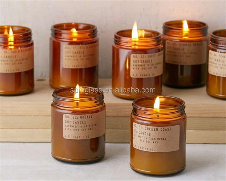 Unique Candle Jars Design Decoration