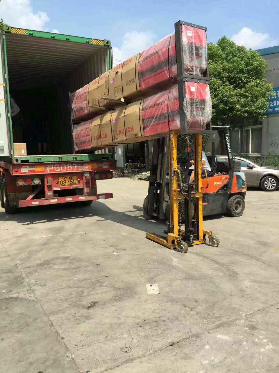 HOTON TLT240SC Two Post Lift