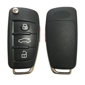 CN008066 Original smart key 4 Button Flip Key Remote Key Fob 315MHZ ( 8V0 837 220A )NBGFS12A71