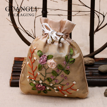 drawstring jewelry bags/pouches