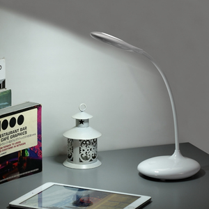 Bedroom led desk light rechargeable led desk lamp with usb charging port