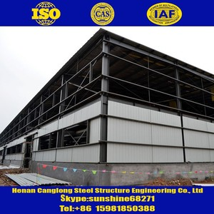 Top steel structure building