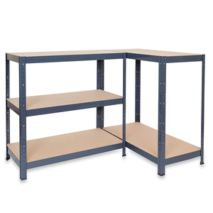 Industrial boltless adjustable garage wood metal best storage shelving units