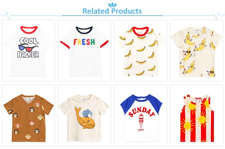 Boutique per bambini vestiti di estate dei capretti delle parti superiori delle ragazze dell'annata camicetta senza maniche