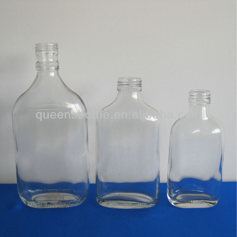 Different Sizes Glass Liquor/alcohol/brandy Bottles