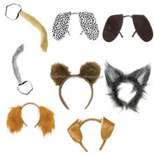 Animal Fancy Dress Accessory Ear Party Headband Tails Bunny Cat Dog Ears Headband BH4082