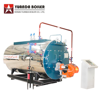 Wns 0.5-6 Tons Gas Fired Steam Boiler Gas Boiler For Chemical Plant ...