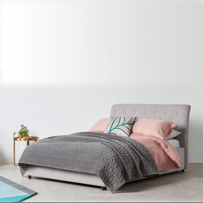High Quality Standout Piece King Size Fabric <strong>Bed</strong>