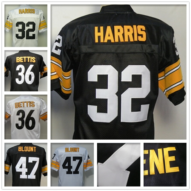 f6f719f5e Excellent 2015 Free Shipping 32 Cheap Franco Harris jersey Authentic  throwback football jersey Stitched 36 Jerome