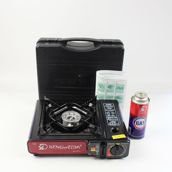 Portable Outdoor Emergency Butane Stove Burner for Camp Single Burner with Carry Case