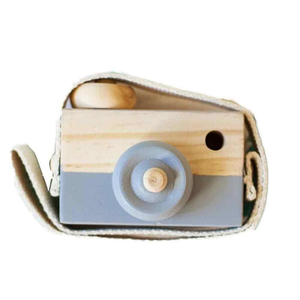 Baby Kids Toy, FTXJ Cute Wood Camera Toys Children Fashion Clothing Accessory Decoration, Gray