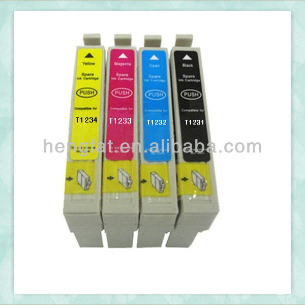 Compatible ink cartridge T1331 T1332 T1333 T1334 for Epson Stylus Photo 125/420/320