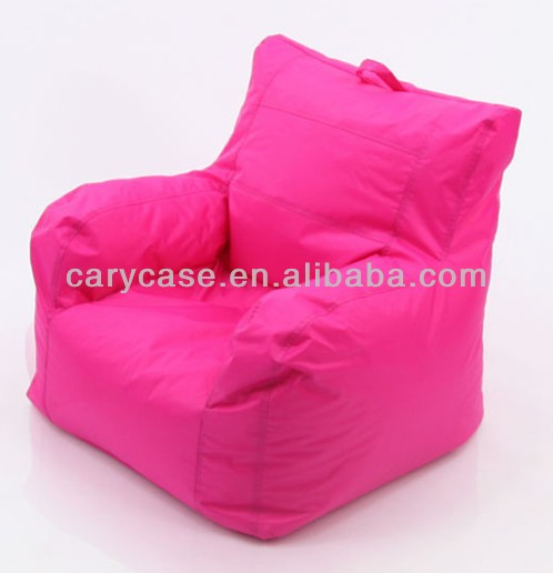 Single unique beanbag recliner , 2016 latest design beanbag recliner, big joe bean bag with carry handle