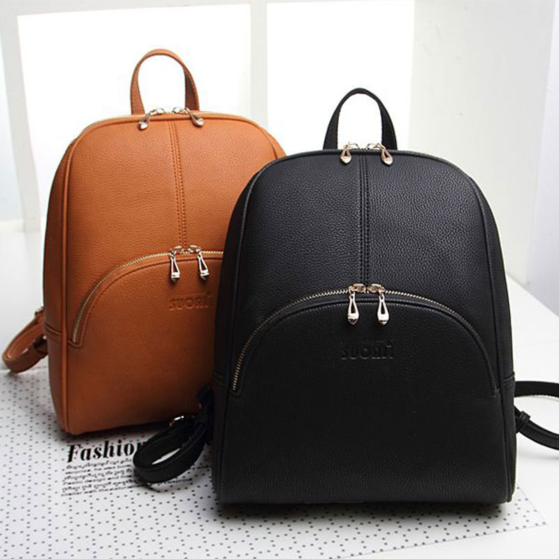 US  23.83. 2015 New Design!Fashion Women Outdoor Sports Backpack PU leather  ... 39855c4a230