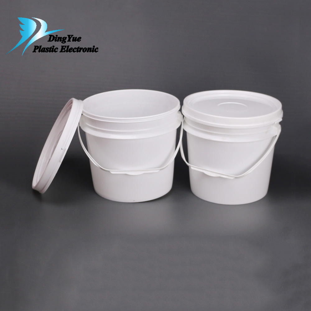 5 Gallon Buckets With Empty Paint For And Custom Made Plastic Bucket