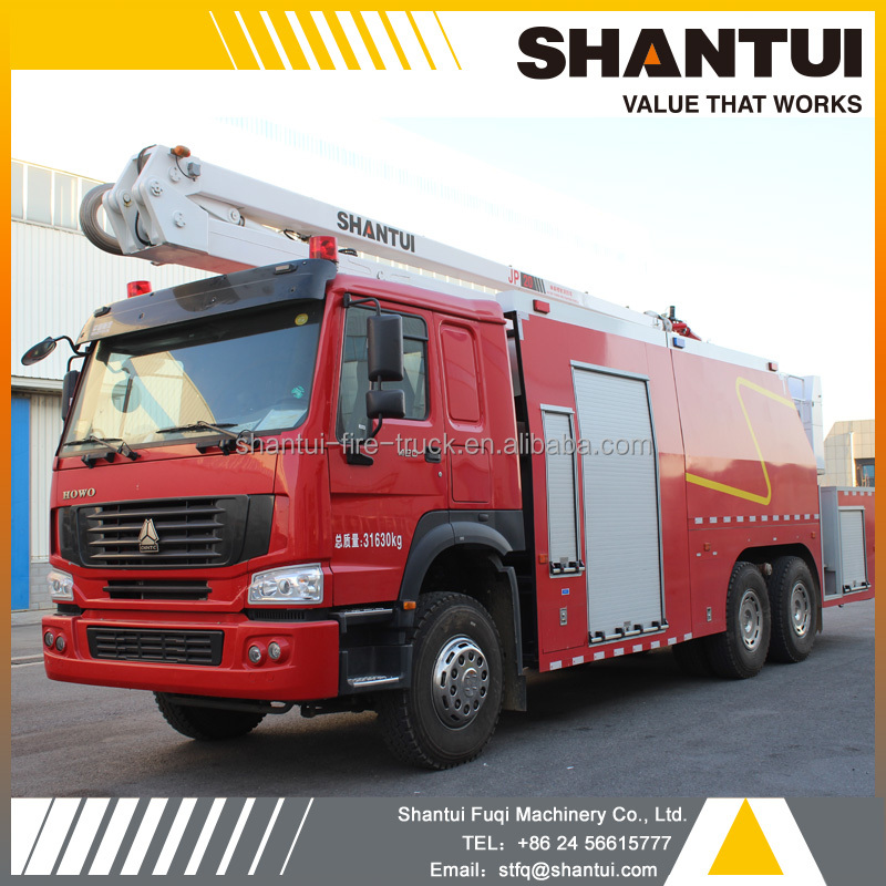 20m brand new Shantui water tower fire truck for sale