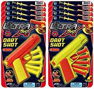 Ja-Ru Ultra Shot Dart Shot Party Favor Bundle Pack