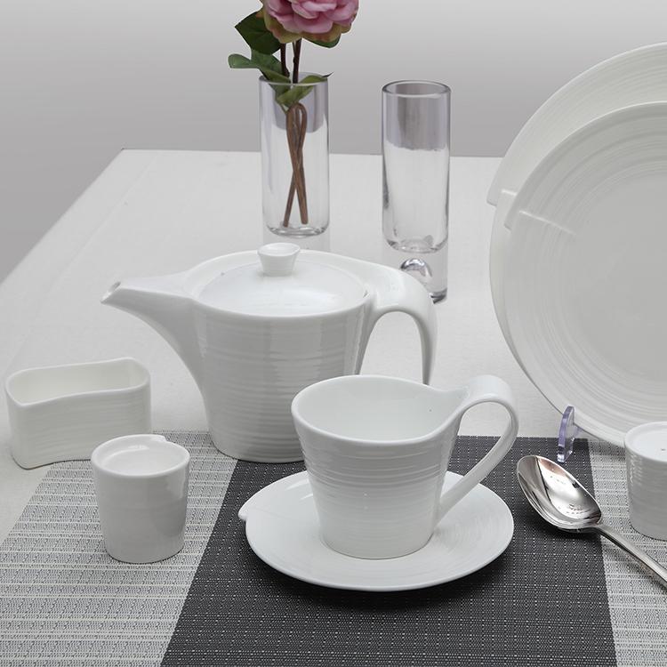 factory white porcelain tableware dinner set