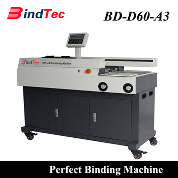 D60-A3 Fully Automatic Exercise Glue Book Binding Machine Book Machine